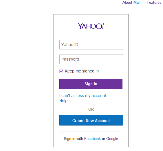 How to create a Yahoo! account without entering a cell phone