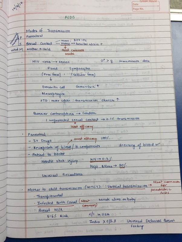 How to make notes for mbbs first year - Quora