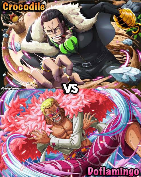 Who Would Win In A Fight Crocodile Or Doflamingo Quora