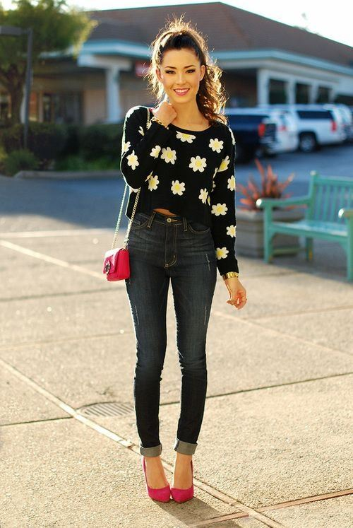 Why You Should Wear High Waist Jeans