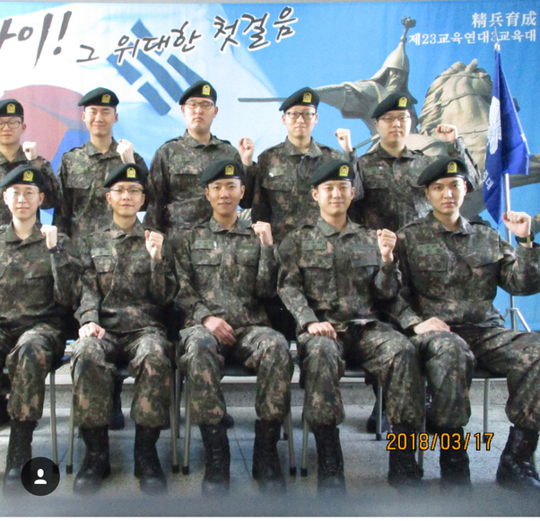 9f949bcd South korean government made mandatory military services of 2 years from  1957 to all mens of age 18 to 35..woman's can also apply voluntarily. Lee  min ho ...