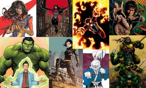 who are the most prominent asian superheroes quora