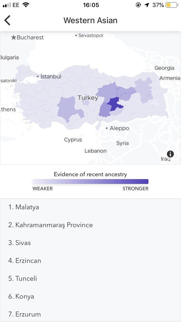 Is there any Turkish person that done Ancestry DNA test? - Quora