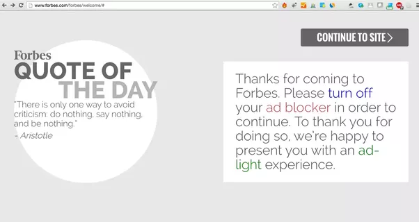 Once a publisher sets up getpaywall on his website, all ad-blocking users  are given an option of either to disable the ad blocker (whitelist the  publisher ...