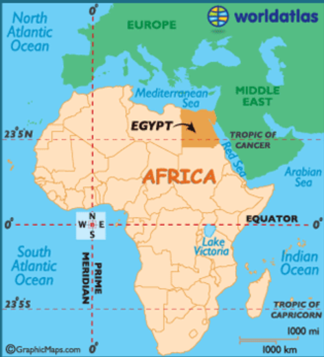 Is Egypt in Europe or in Africa? - Quora