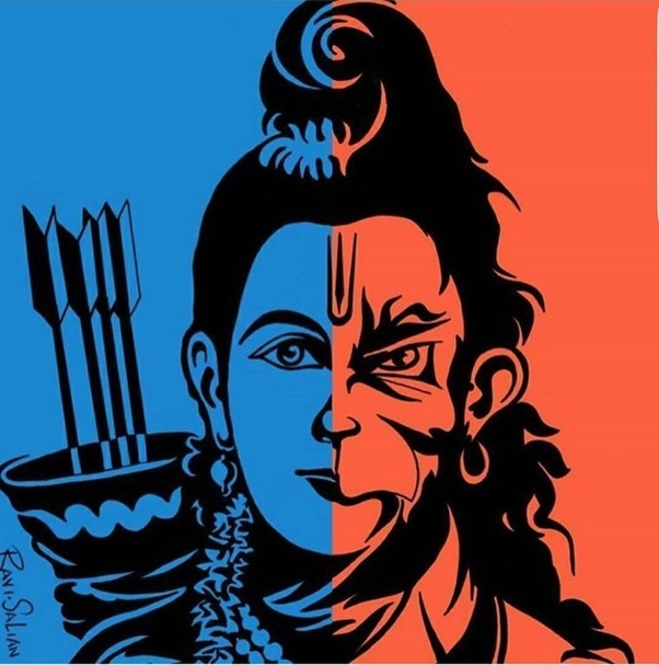 Why Is Bengaluru Covered In Stickers Of Hanuman Quora