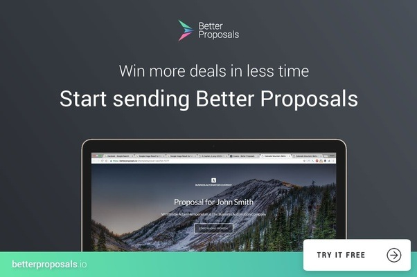 What Is The Best Proposal Writing Software For Freelancers And Web
