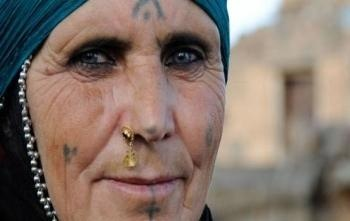 abed2e0635b62 Why do some North African / Middle Eastern women have facial tattoos ...