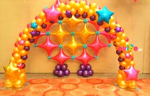 Elegant Confetti Filled Balloons: Fill Balloons With Colorful Confetti And You Will  Have This Pretty Balloon Decoration Ideas For Birthday.