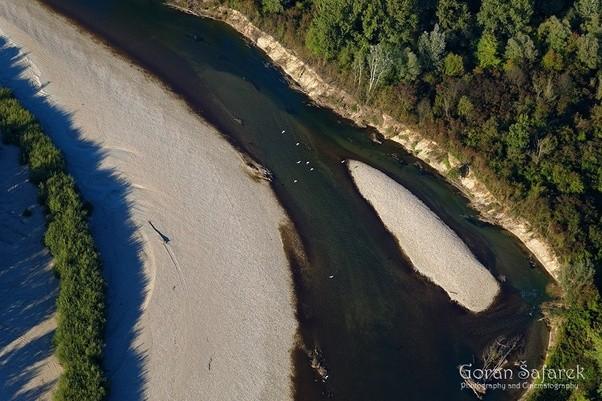 erosion,river,dynamics,meandering, drava, croatia