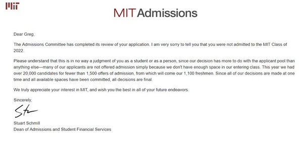 What does your college acceptance or rejection letter looks like cornell ed expocarfo Images