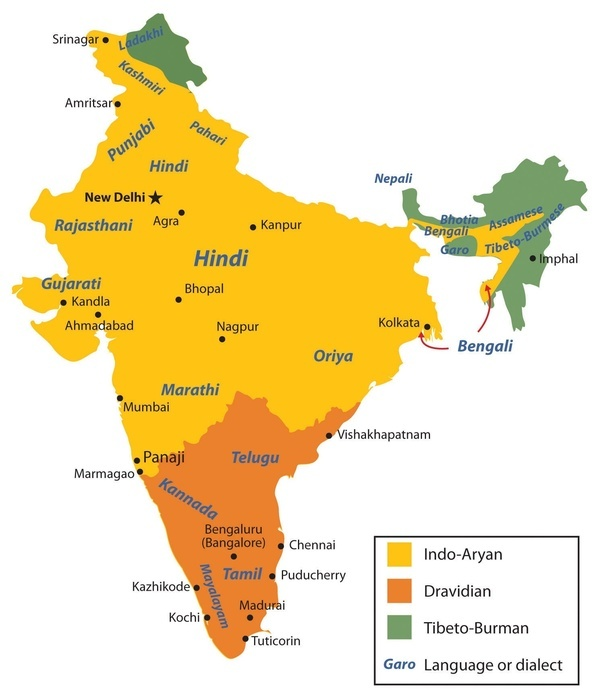 Is west bengal a part of south india or north india quora looking at the above two maps it appears bengal culturally and linguistically belongs to the north but actually bengal is the region where indo gangetic gumiabroncs Image collections