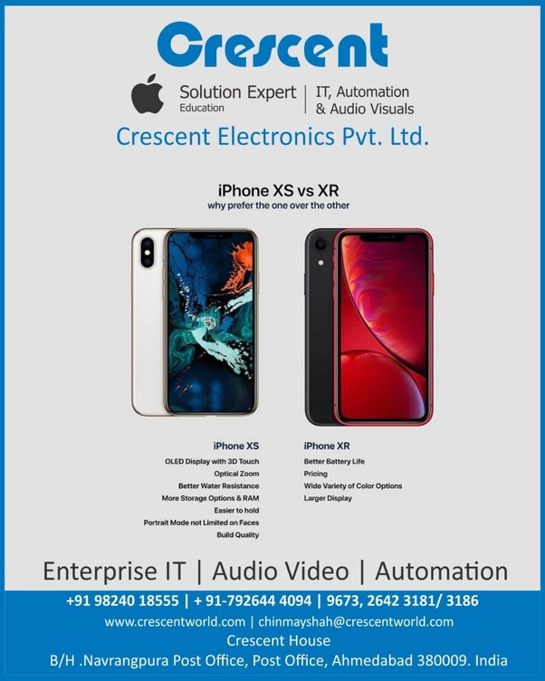 Is it worth Buying iPhone XR or XS in India? - Quora