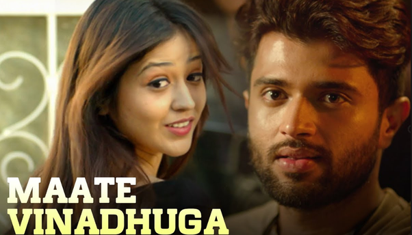 What is the English translation of the Telugu song Maate