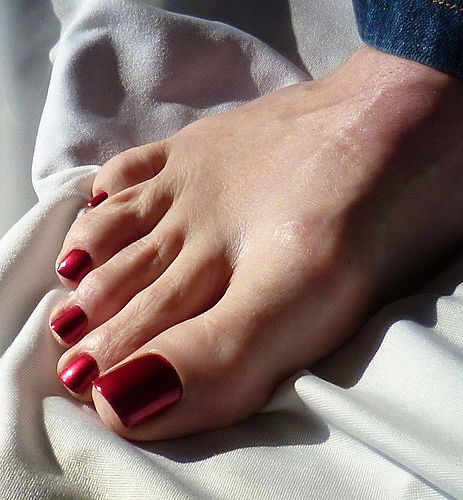 Red Nail Polish Toes: Will It Ever Be Acceptable For Men To Paint Their Toenails