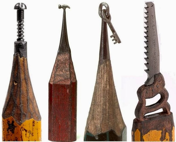 What Type Of Pencil Must Be Used For Pencil Carving Quora