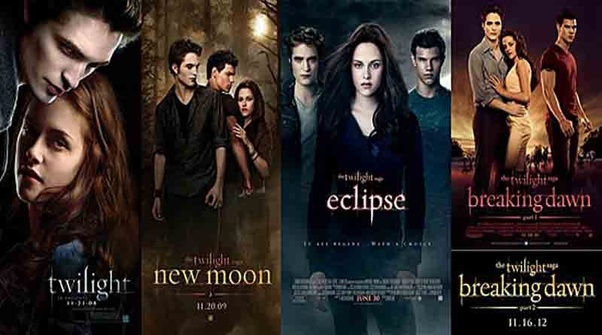 what are the names of the twilight movies quora