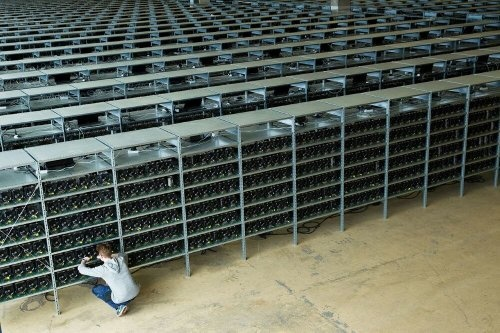 start farming bitcoins