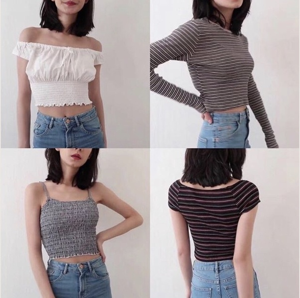 0fb4213aee2 a bunch of high waisted styles that don t show too much skin