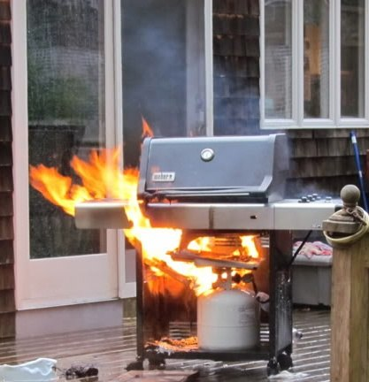 How Far Away From A House Should You Use A Grill And Why