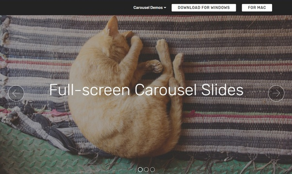 How to create a responsive (bootstrap) media slider carousel