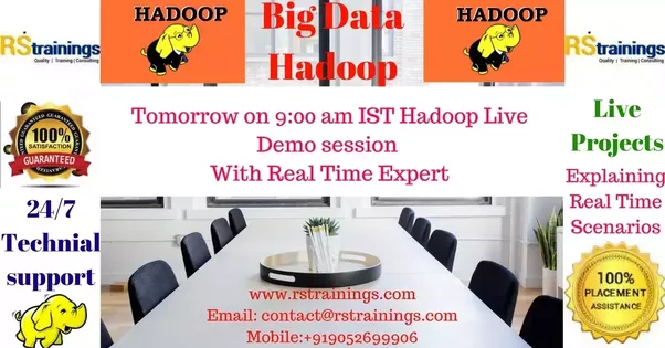 where can i learn hadoop  is there any online training at