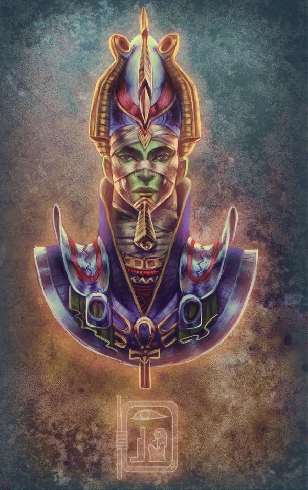 Pin by Ki CHez on Bronze statue of Osiris | Ancient