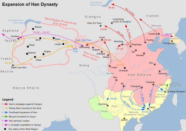 How did china become enormous quora the second time tang dynasty sciox Gallery
