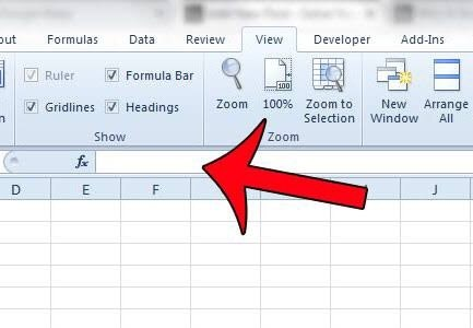 what is the use of the formula bar in excel quora
