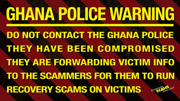 How to report a scammer from Ghana - Quora