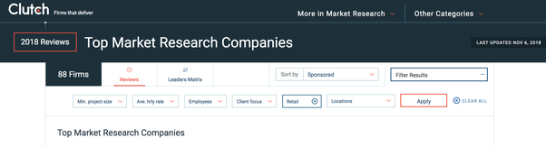 Market Research Companies >> How To Find The Top Market Research Companies And How Do I Know