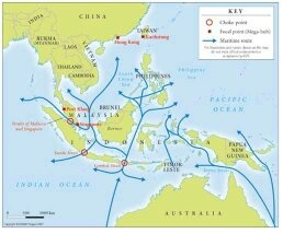 southeast asia also lies between australia and asia making sea the biggest potential market for australia even if australia doesnt make sea as its trade