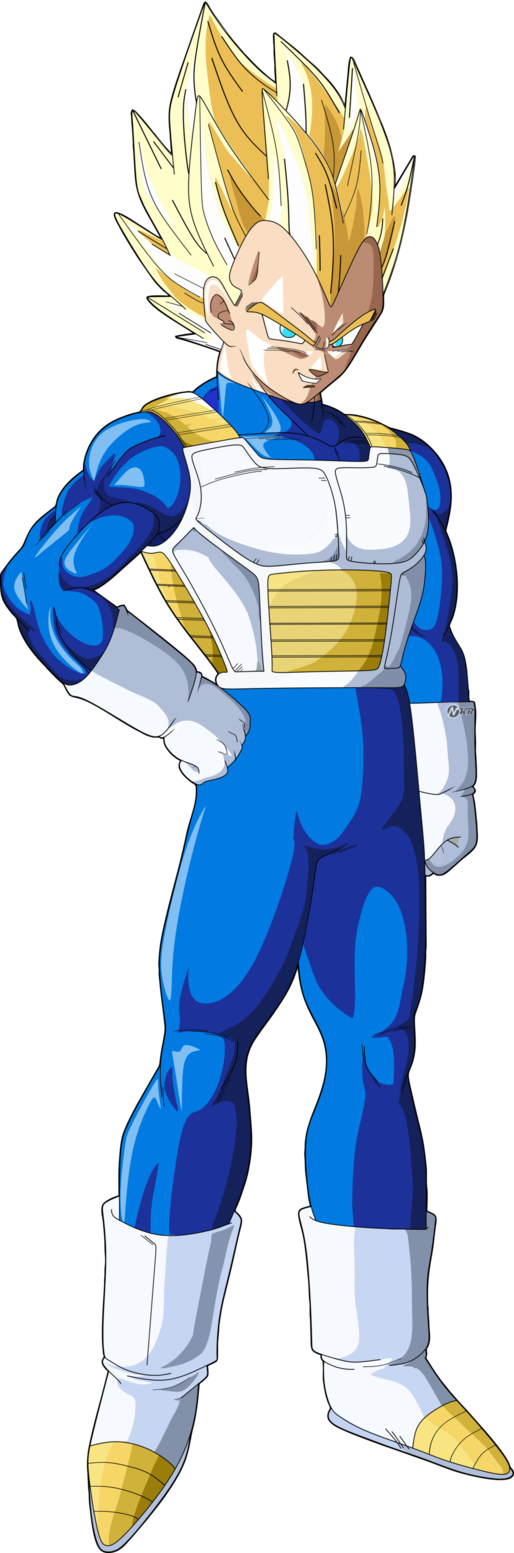 Vegeta Normal Clothes