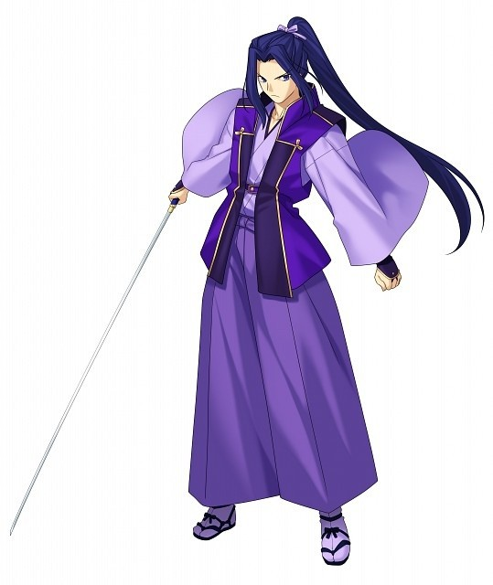 Who is a good anime character to cosplay with purple hair