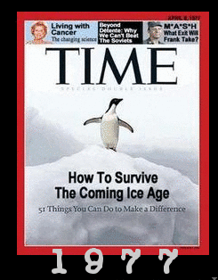 Did Many People Formerly Believe In Global Cooling