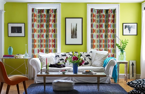 If You Want A Very Bold Look Can Opt For Strong Complimentary Colours In Prints The That Would Compliment Green Well Are Terracota Teal