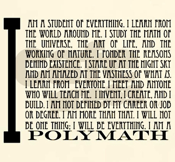 How Does One Become A Polymath? Is It Possible To Practice