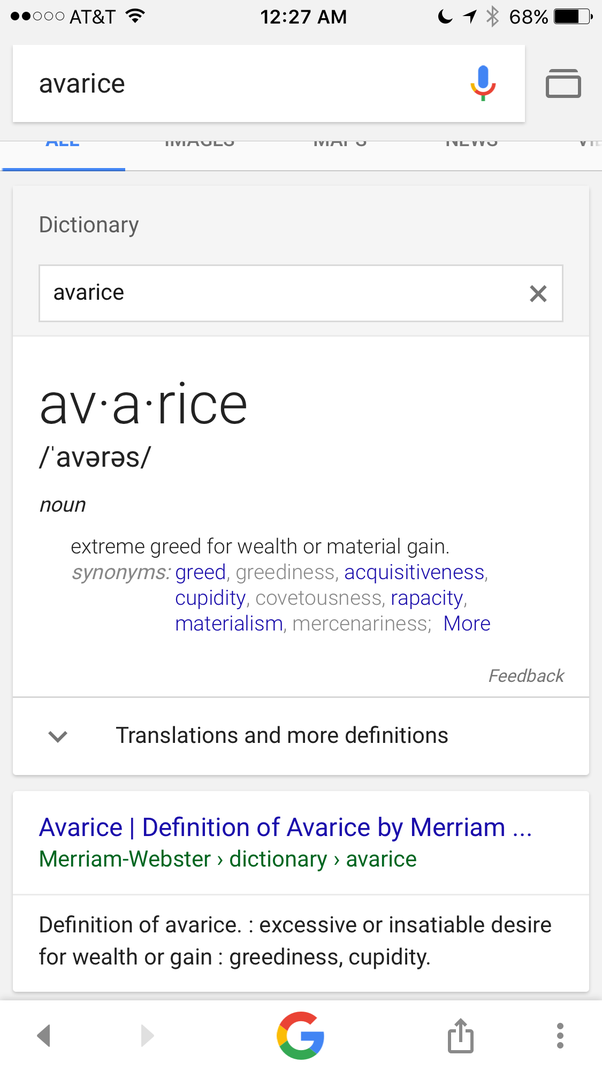 We Dont Use That Word Much These Days But Its Happening Everywhere You Look It Is An Incredibly And Strongly Negative Word The Love Of Money