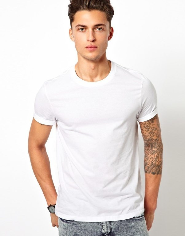 ... shirts or t-shirts make men look 50% more attractive! Its proven. I don\u0027 t know why it is so,but it is fact. It is like evergreen color for them to  wear.