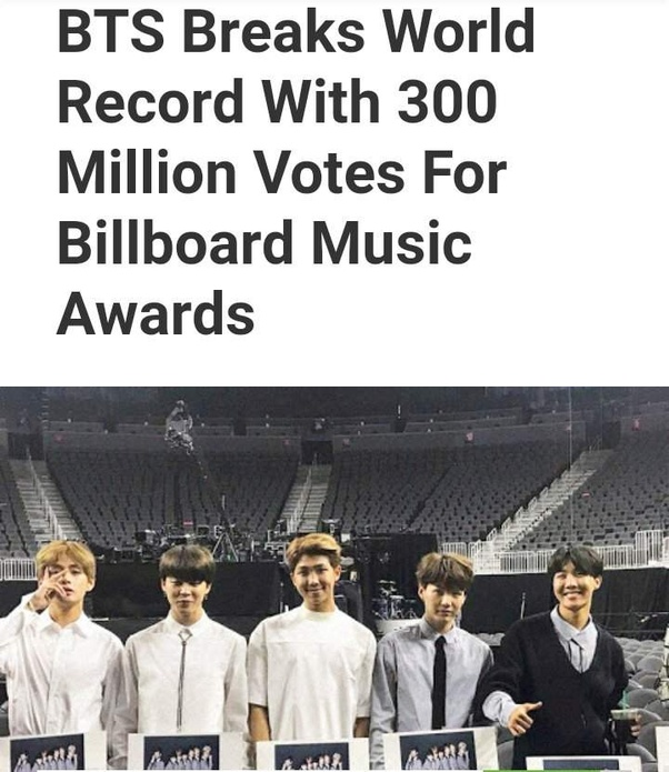 How To Vote For Bts For The Billboard 2019 Quora