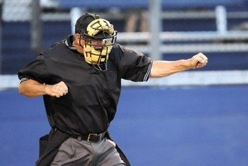 Why are baseball umpires called blue? - Quora