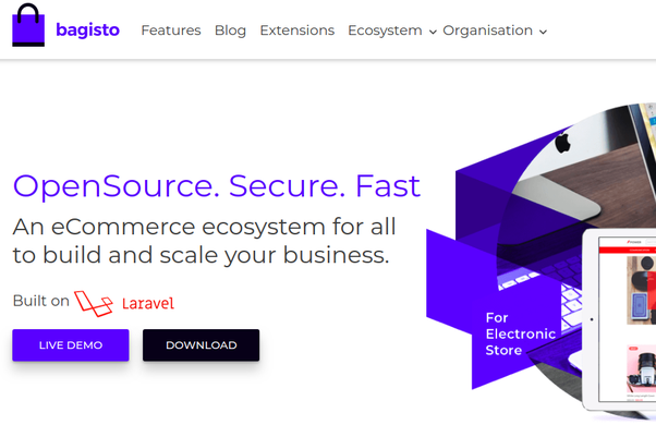 Is it wise to create an ecommerce site from scratch using Laravel