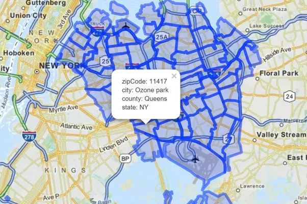 Can you get the Google maps API to return a citys neighborhood from
