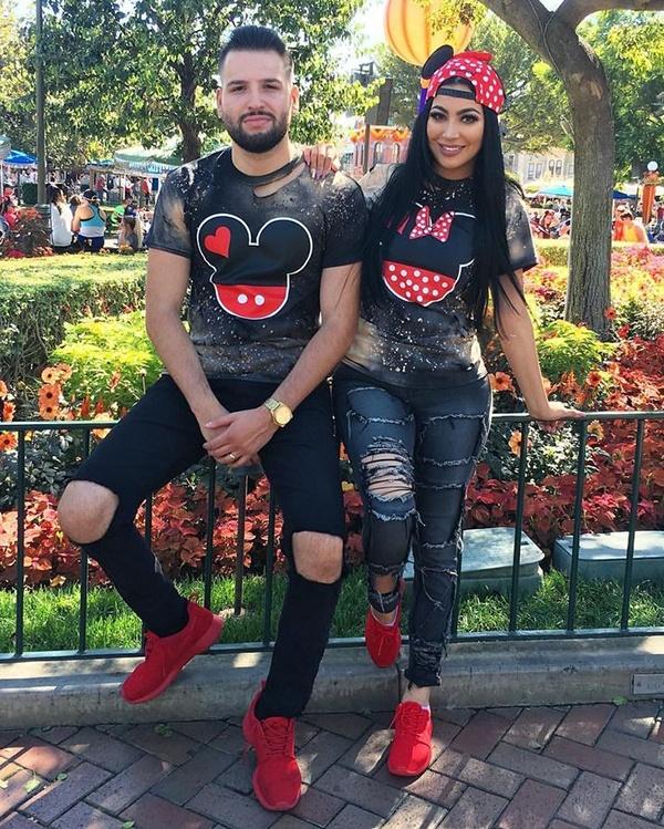 a4a9adf552 Via: Matching Couple T-Shirts, Boyfriend Girlfriend Shirts, Couple Crewnecks