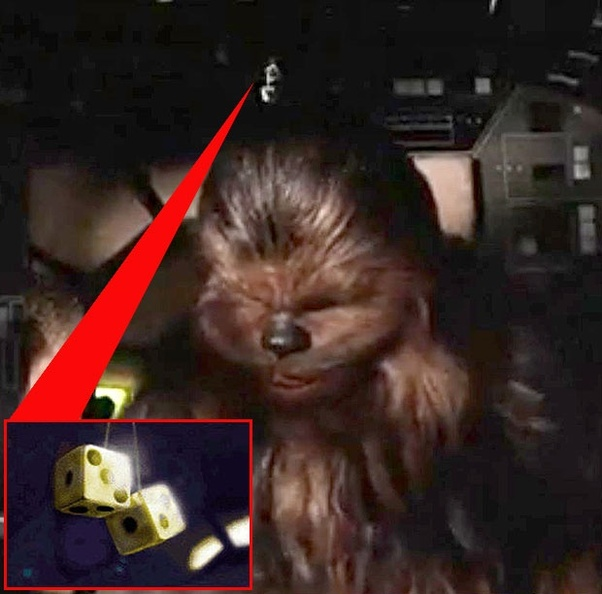 In Star Wars The Last Jedi What Do The Golden Dice Mean Quora