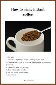 How To Make Instant Coffee Powder Quora