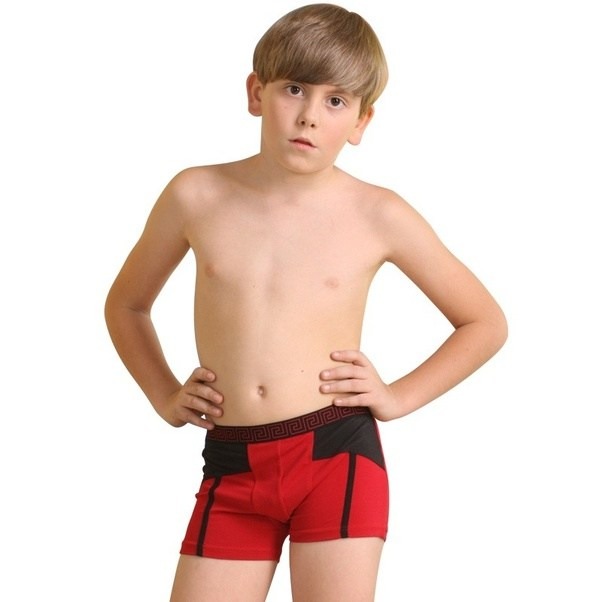 Types of boys' briefs and underwear. Most underwear items for boys come in sets of two to seven pieces. They're typically made of percent cotton, although some have a small amount of polyester or spandex added for extra stretch and comfort. They don't require any special care; just toss them in the washing machine.