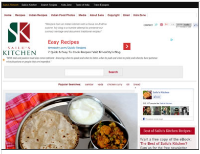 Who are indian bloggers who write about indian foods and restaurants she has been blogging since 2005 and her blog is must visit for those looking up recipes of andhra food forumfinder Gallery