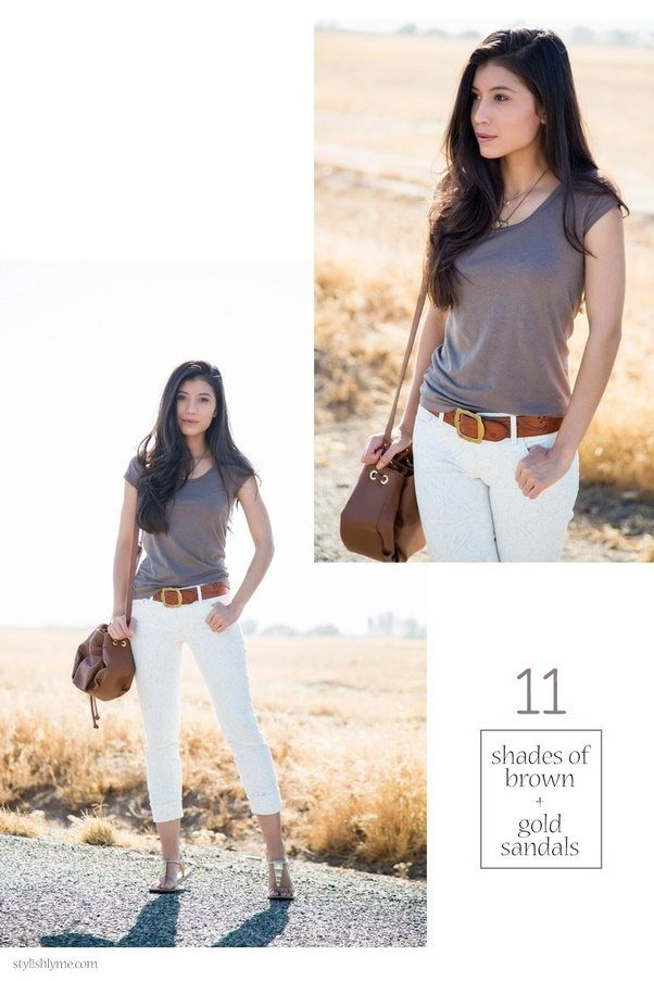 Which Colour Top Can Go With White Jeans Quora