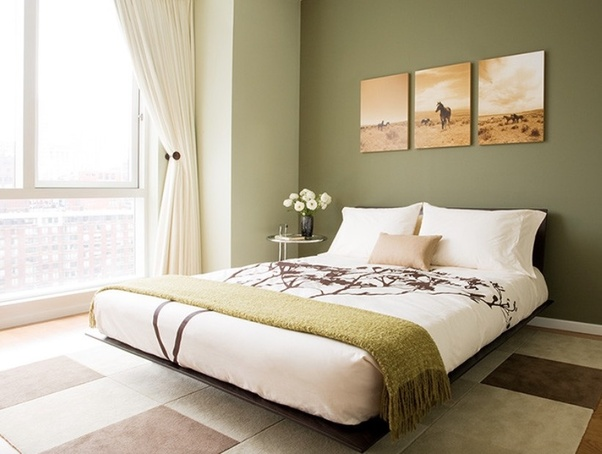 What is the best way to decorate olive green walls? - Quora